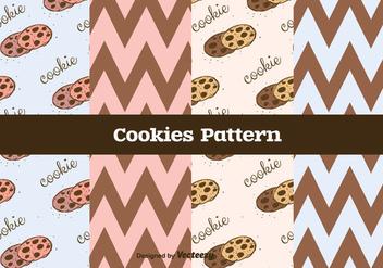 Cookies Vector Pattern - Free vector #375393