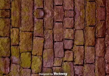 Vector Realistic Stone Wall Texture - vector gratuit #375723