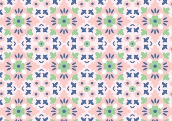 Mosaic Pastel Pattern - Kostenloses vector #376073