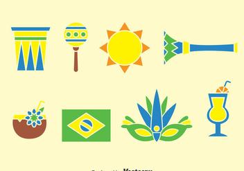 Samba Element Icons Vector - Kostenloses vector #376263