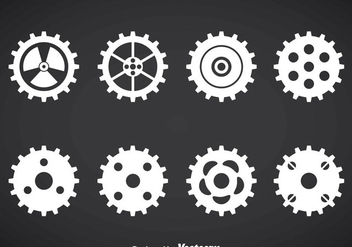 Clock Gears Vector Set - Kostenloses vector #376383
