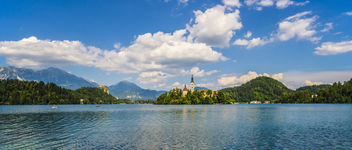 Bled Panorama - Kostenloses image #376873