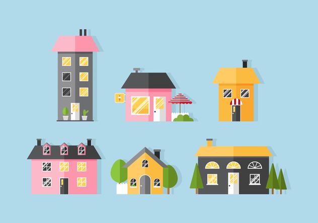 Vector House - Free vector #377273