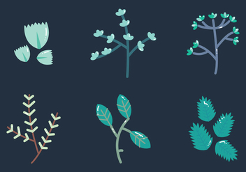 Free Thyme Vector Graphic 2 - vector #377473 gratis