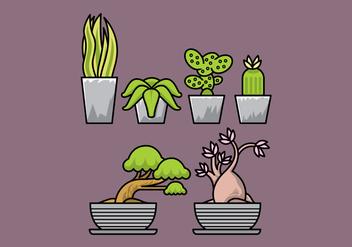 Vector Plants - Free vector #377863