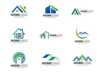 Free Home Logo Vectors - Kostenloses vector #378103