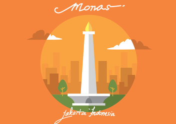 Monas Vector Art - бесплатный vector #378413