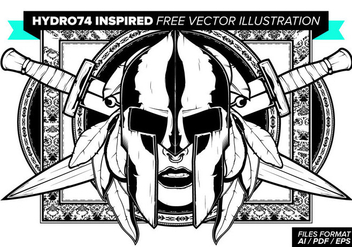 Hydro74 Inspired Free Vector Illustration - vector gratuit #378453