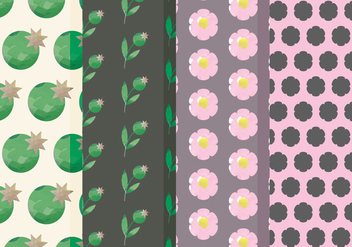 Vector Floral Patterns - Free vector #378723
