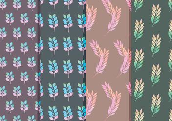 Vector Floral Branch Patterns - Kostenloses vector #378773