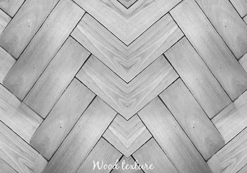 Free Vector Gray Wood Background - бесплатный vector #379033