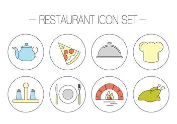 Free Restaurant Vectors - Kostenloses vector #379293