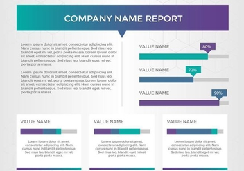 Free Annual Report Vector Presentation 11 - Free vector #379333