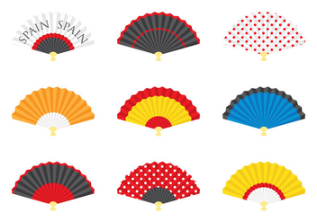 Spanish Fan Collection - vector #379623 gratis