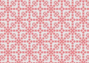Pink Motif Pattern - Free vector #380893