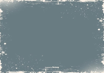 Grunge Frame Vector Background - Kostenloses vector #381623