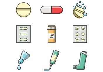 Free Medicine Vector - Kostenloses vector #381703