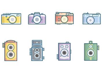 Free Vintage Camera Vector - бесплатный vector #381923