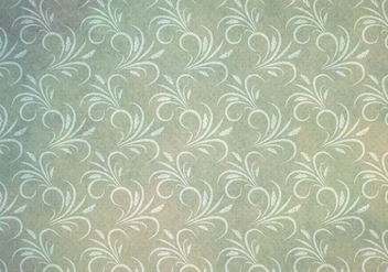 Free Vector Western Flourish Seamless Green - Free vector #382053