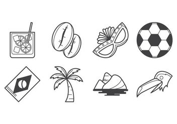 Free Brazil Icon Vector - Free vector #382153