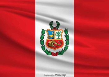 Vector Flag of Peru - Free vector #382243