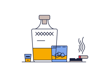 Free Whisky Vector - Free vector #382723