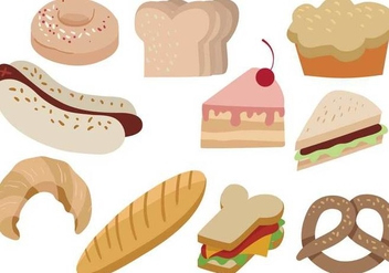 Free Snack Vectors - Free vector #382983