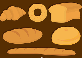 Bread Collection vector - бесплатный vector #383723