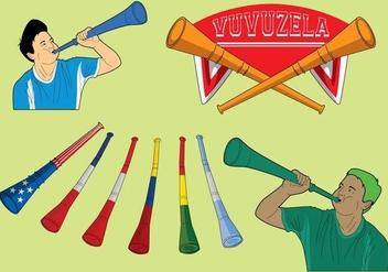 Free Vuvuzela Icons - Kostenloses vector #384223