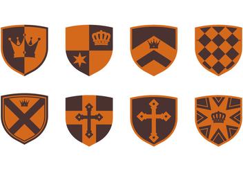 Medieval Blason - Kostenloses vector #384393