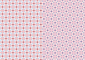 Pink Square Pattern - Free vector #384523