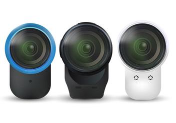 Cameras Vector - vector #384853 gratis