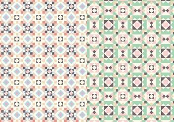 Pastel Motif Pattern - vector gratuit #384913