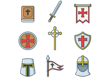 Free Templar Vector - vector gratuit #384963