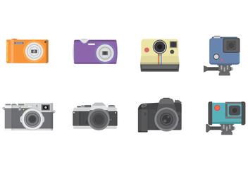 Free Camera Vector - Kostenloses vector #384983