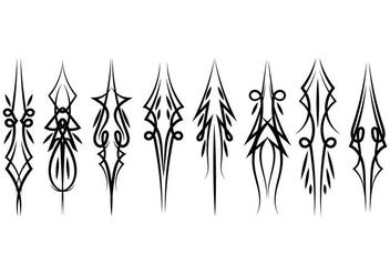 Vertical Pinstripes Vectors - Free vector #385293