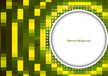 Free Vector Green Color Mosaic Background - Kostenloses vector #385763