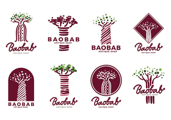 Baobab Logo Vector - Free vector #386073