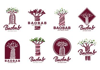 Baobab Logo Vector - Kostenloses vector #386073