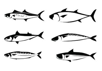Mackerel Vectors - vector gratuit(e) #387903