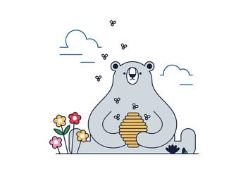 Free Bear Vector - Free vector #388193