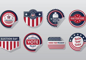 Free Presidential Seal Icons Vector - Kostenloses vector #388423