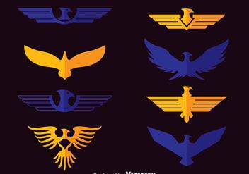 Eagle Symbol Vector - Kostenloses vector #388803