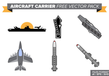 Aircraft Carrier Free Vector Pack - vector gratuit #389073