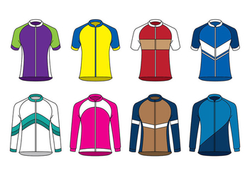 Raglan Sport Jersey Vector - Free vector #389313