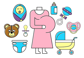 Free Baby Icons - Kostenloses vector #389333