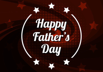 Free Vector Happy Father's Day Background - Free vector #390003