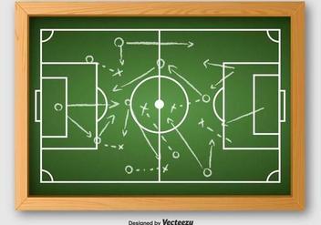 Vector Of Football Plan - Free vector #390153