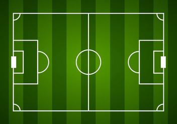 Soccer Field - vector gratuit #391083