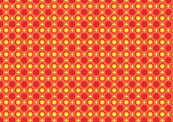 Geometric repeating pattern - vector gratuit #391153